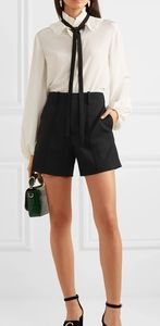 Chloè Tonnerre Wool Long Shorts